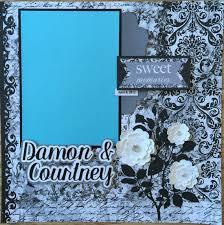 personalized scrapbook album custom made wedding scrapbook album you choose colors