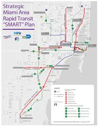 Miami Beach Bus Map County Preparing To Spend 3 6b On Rapid Transit