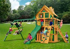 Costco Playground Furniture Mesmerizing Chateau Gorilla Playsets With Swing Set And