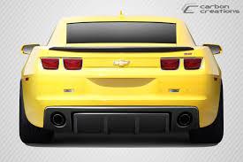 2010 camaro rear diffuser carbon creations 113147 2010 2013 chevrolet camaro carbon