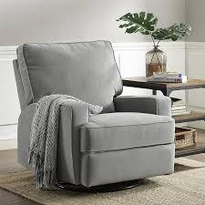 Living Room Recliner Chairs Antonio Swivel Reclining Glider Reviews Wayfair