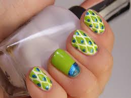 pattern nail art ideas source 17 blue hearts fire nail patterns