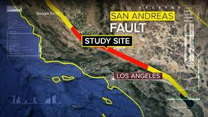 san francisco fault map san andreas fault at abc news archive at abcnews