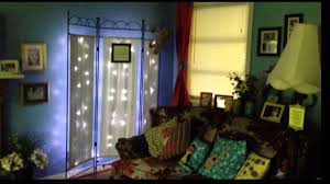 room divider twinkle lights youtube