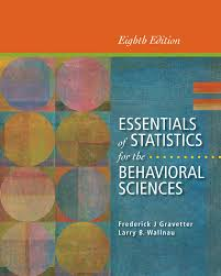 essentials of statistics for the behavioral sciences 8th edition