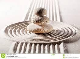 zen design meditation with zen design in sand stock photo image 36175304