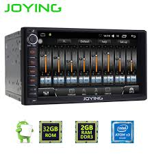 sound lifier for android joying 7 inch touch screen 2din android 6 0 car radio unit