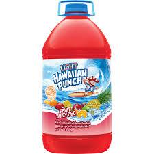 hawaiian punch fruit juicy red light 1 gal walmart com