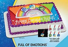 inside out cakes disney pixar inside out of emotions cake