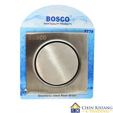 bosco 777 stainless steel floor drain with trap 11street