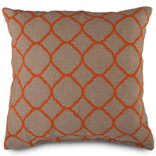 orange outdoor pillows cushions dfohome