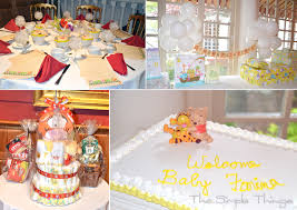 Classic Pooh Baby Shower Winnie The Pooh Baby Shower Decorations Baby Showers Ideas