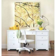 Large White Desk With Drawers Office Desk Office White Desk With Hutch Office White Desk S005