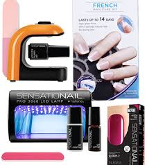 which at home gel manicure kit works best u2013 daily makeover
