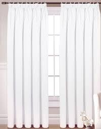 Blackout Curtains White Best 25 White Pencil Pleat Curtains Ideas On Pinterest Pencil