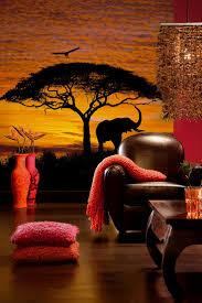 52 best wall paper murals images on pinterest wall murals african sunset mural by wallpops