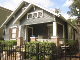 Blue Gray House Color by Exterior Paint Schemes For Bungalows Best Exterior House