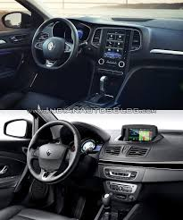 renault scenic 2017 interior renault megane sedan vs renault fluence old vs new
