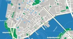downtown manhattan map getting around downtown alliance