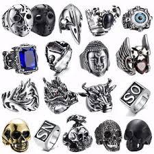 cool rings for men 316l stainless steel steam men ring skull cool rings