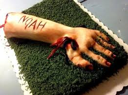 walking dead cake ideas special character cakes