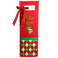 cloth holiday wine gift bags thousand islands winery