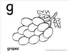 lowercase letter g coloring page letter g writing and coloring sheet