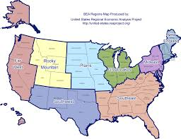map us states regions map where in the us is the economy growing vox student state