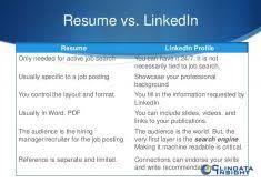 Resume Builder From Linkedin Linkedin Resume Search Resume Templates