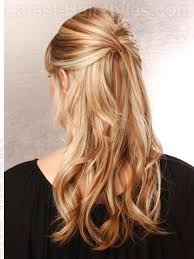 partial updos for medium length hair 20 gorgeous formal half updos you ll fall in love with