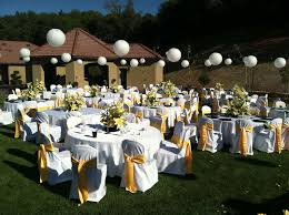 Decorations Outside Outside Wedding Decorations Ideas At Best Home Design 2018 Tips