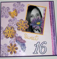 sweet 16 photo albums stin happy hearts sweet 16 scrapbook pages