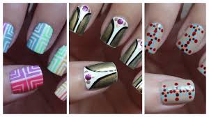 easy nail art for beginners 10 youtube
