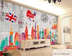 aliexpress com buy retro sketch city landmark london eye 3d any