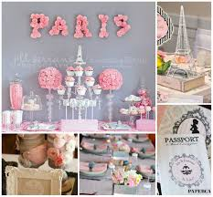 Home Decor Paris Theme Interior Design Creative Paris Themed Bridal Shower Decorations