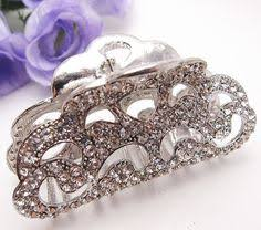 Decorative Hair Claws Big Large Crystal Rhinestone Plastic Hair Claw Jaw Clip Clamp Pin