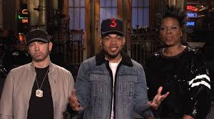 chance the rapper hosts saturday live sings thanksgiving