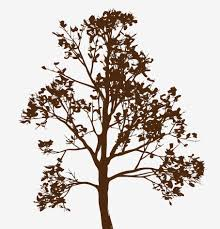 large wall simple spring tree decal forest decor vinyl sticker wall tree decal with leaves and branches closeup