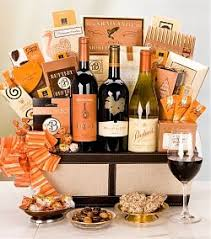 basket gift ideas wine gift basket ideas tips for giving the gift