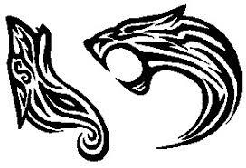 tribal tattoos wolf cougar by yami luna on deviantart