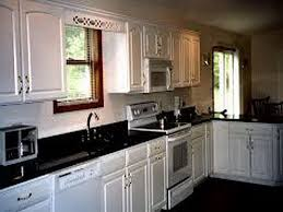 Kitchen White Cabinets Black Countertops Painted Kitchen Cabinets With Black Countertops U2013 Quicua Com