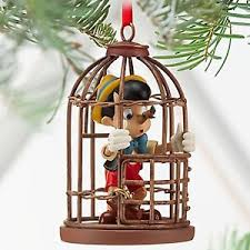 disney pinocchio cage nosey tree ornament new 2013 ebay