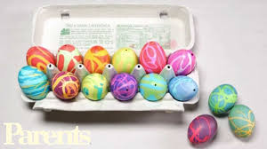 how to make easter eggs how to make easter eggs with rubber cement parents youtube