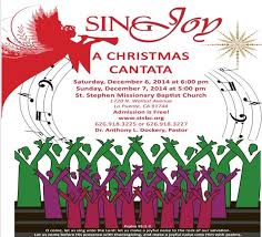 you are cordially invited to sing a cantata no