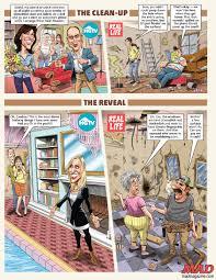 tom richmond illustration hgtv vs real life