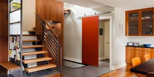 Barn Door Hardware Installation by Modern Barn Door Hardware Systems Krownlab