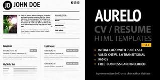 40 premium and free resume templates web design burn