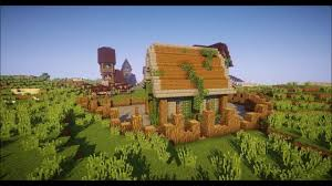 Rustic House Minecraft Rustic House Tutorial Youtube