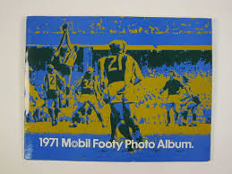 Victorian Photo Album 1971 Mobil Footy Photo Album Victorian Footballers National