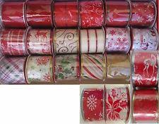 wire edged ribbon wire edged craft ribbons 3 width ebay